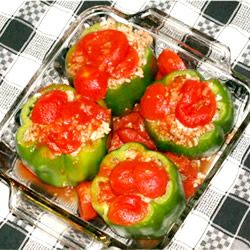 Image of Annie's Stuffed Bell Pepper, Spark Recipes