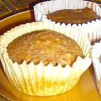 Pumpkin Applesauce Muffins