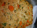 Baked Tofu Kale Loaf (vegan)