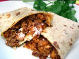 Hungry Girl's Cheesy Beefy Supreme Wrap (Taco Bell Swap!)