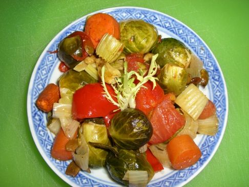 Hearty Roasted Veggies