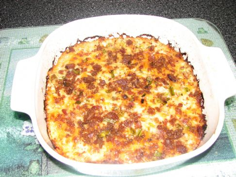 Mock Mashed Potato Casserole