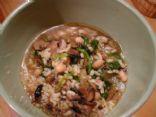 Vegetarian Mushroom & Bean Soup