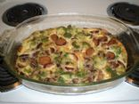 Turkey Kielbasa & Egg Strata