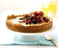 Cinnamon Bread Crust Quiche with Berries & Bacon