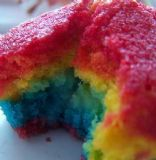 Rainbow Cupcakes