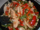 Pineapple Chicken Stir Fry