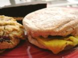 Egg & Sausage Breakfast Muffin Sandwich