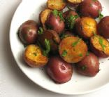 Roasted Brunch Potatoes with a dijon glaze