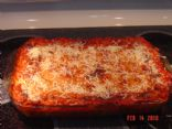 Turkey Spinach Lasagna (Cooking Light Recipe)