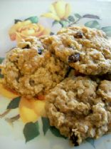 Plain Oatmeal Cookies