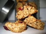 Vegan Steel-Cut Oatmeal Craisin Cookies