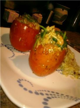 Stephanie Louise's Stuffed Tomatoes