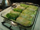 Stuffed Turkey & Cabbage rolls