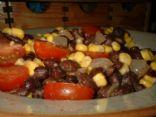Cajun Black Beans - Vegan