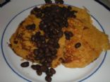 Spicy Corn Cakes with Black Beans