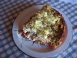 Tomato and Feta Strata