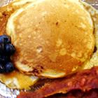 Low Fat wholewheat pancakes