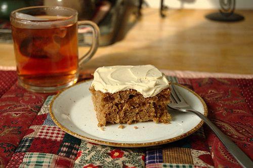 Cinnamon Oatmeal Cake