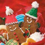 Light Gingerbread Cookies