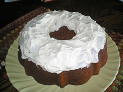 Spicy Chocolate Pumpkin Cake