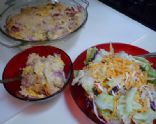 Cauliflower & Ham Bake