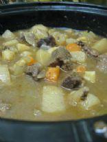 Beef Stew via Crock Pot