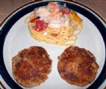 Lobster, shrimp and crab cakes