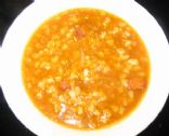 Wendy's Beef Barley Soup - 1 cup