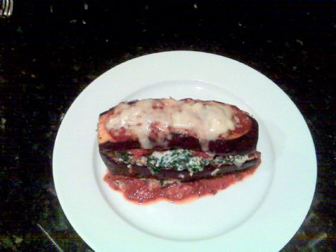 Easy Eggplant Lasagna