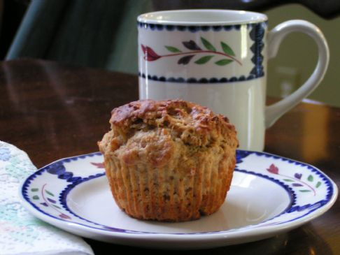 Double Banana Nut Muffins