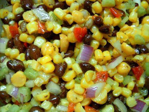 Succotash Salad (Black Bean & Corn Salad)