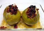 Black Cherry Baked Apples