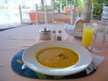 Haitian Pumpkin Soup - Soup Joumou (pronounced joo-moo)