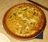 Asparagus & Bacon Quiche