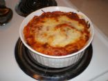 Ricotta Cheese Bake with Roasted Sirloin