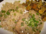 Creamy Ranch Pork Chops & Rice
