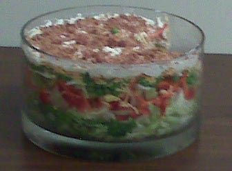 Seven Layer Salad Light