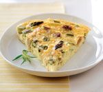 Crustless Bacon & Asparagus Quiche