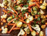 Roasted Winter Vegetables with Rosemary