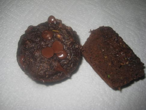  Chocolate Zucchini Bread or Muffins
