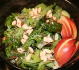 Andi's Simple Balsamic Salad with Almonds and Apples