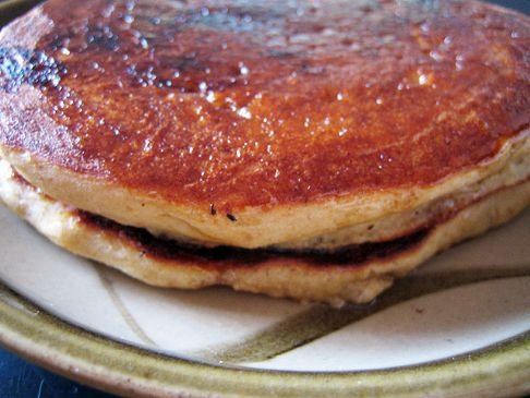 Whole Wheat Honey Flax Pancakes