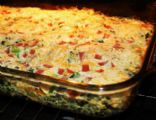 Low Fat, Low Cal Spinach Quiche