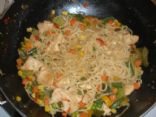 Chinese Noodle Stir-fry with Chicken