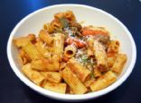 Rigatoni with Sausage & Veggies