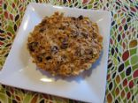 CarrotsNCake.com 3-Minute Oatmeal Cookie