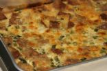Savory Bread & Cheese Bake