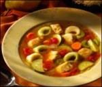 Leftover Turkey Tortellini Soup
