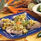 (Fish) Grilled Tuna & Spicy Pineapple Salsa